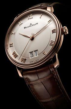 La Cote des Montres : La montre Blancpain Villeret Grand Date - Une grande date pour la collection Villeret