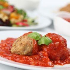 Healthy Recipe: Turkey Meatballs al Forno