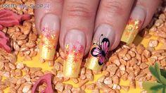 #glitter   #stars   #nailart   #nails   #butterfly   Ob einzeln oder in Kombination mit weiterer Nailart, die neuen Jolifin Glitter Stars zaubern schillernde Effekte auf Deine Nägel. In diesem Video zeigen wir Dir, wie das aussehen kann.  Hier findest Du alle verwendeten Produkte: http://www.prettynailshop24.de/shop/nailart-pink-butterfly-video_654.html#Produkte