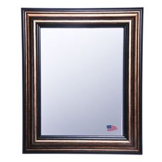 Get the modern rustic look - while staying on budget with a Rayne Canyon Bronze Wall Mirror