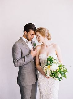 Botanical Wedding at Cannon Green Charleston | Wedding Ideas | Oncewed.com