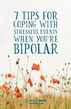 With my recent Type I #Bipolar diagnosis, I know that I have to stay away from #stress as much as possible. But what happens when the stress comes to me? What happens when the unthinkable occurs? How does one with #bipolardisorder cope with those events?