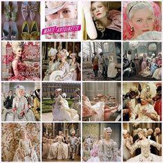 Marie Antoinette movie scenes