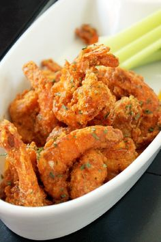 Longhorn steakhouse wild west shrimp with prairie dust for How to cook buffalo fish
