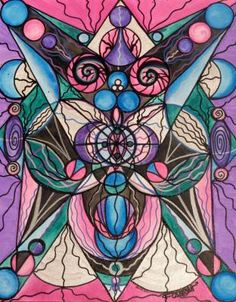 Arcturian Healing Lattice - Frequency Paintings - Teal Swan
