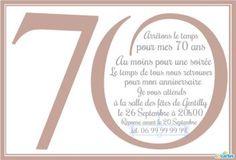 Modele De Texte D Anniversaire 70 Ans Jusqu A 79 Ans Gratuit Pour