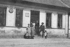 1927, Nýřany, Hostpoda U zeleného stromu. Zdroj: nyrany.cz