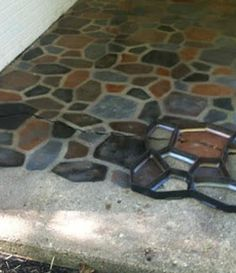 Concrete On Pinterest Concrete Slab Patio And Outdoor