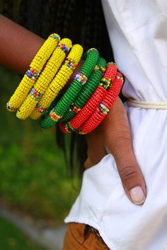 Savannah Bracelet - these look nice next to the white shirt