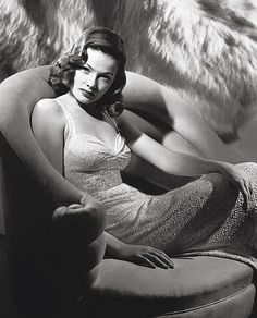 Gene Tierney : Muses, Cinematic Women | The Red List