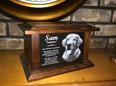 StoneArtUSA custom made memorial stones & cremation urns for pets.