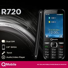 Want a simple and quality handset?  QMobile happily announces R720, a communication experience that has never been seen before in just Rs.2,450/-  Get More Details here: http://www.qmobile.com.pk/phone-r720.html