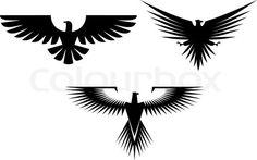 2094202-162169-eagle-symbol-isolated-on-white-for-tattoo-design.jpg (480×301)