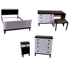 2537: Norman Bel Geddes Art Deco Furniture : Lot 2537