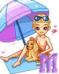 Alfabeto de Dolls chico en la playa. - Oh my Alfabetos!
