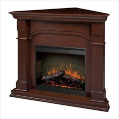Amazing Corner Electric Fireplace - http://www.skysangels.com/amazing-corner-electric-fireplace/