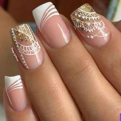 All The Colors, Nail Designs, Wedding Day, Nail Art, Nails, Beauty, Beautiful, Ideas, Nail Ideas