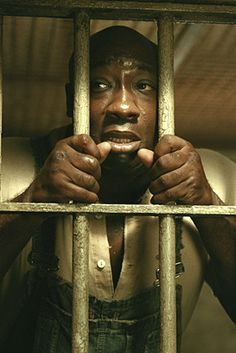Michael Clark Duncan from The Green Mile    RIP Big Guy!
