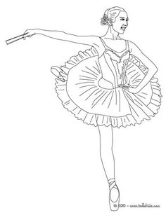 Star ballerino coloring page. You will love to color a nice coloring page. Enjoy coloring this Star ballerino coloring page for free. Color online this . Ballerina Coloring Pages, Dance Coloring Pages, Sports Coloring Pages, Online Coloring Pages, Colouring Pages, Coloring Pages For Kids, Coloring Sheets, Adult Coloring, Coloring Books
