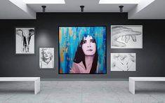 👩🎨👩🎨👩🎨 #artist #artistsoninstagram #acrylics #acrylicpainting #artwork #canvaspainting #canvasart #igart #igartist #love… Acrylics, Flat Screen, Gallery Wall, Paintings, Frame, Artist, Artwork, Instagram, Home Decor
