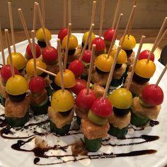 テンペのピンチョス #vegan #vegetarian #vegansofjapan #veganosaka #osaka #ヴィーガン #ビーガン #ベジタリアン #動物性不使用 #完全菜食 #菜食 #大阪 (Natural BAR  Paprika Vegan Dining  )