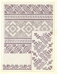 Cross Stitch Embroidery, Embroidery Patterns, Cutwork, Pattern Books, Crossstitch, Blackwork, Knit Crochet, Traditional, Couture