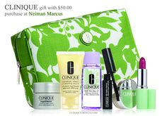 Beauty event at Neiman Marcus is going on now. http://clinique-bonus.com/other-us-stores/