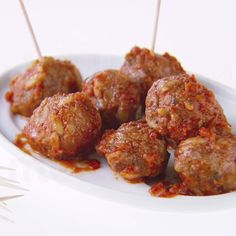 Appetizers are covered with Giada De Laurentiis' easy Mini Meatballs!