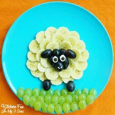Obst für Kinder - Essen für Kleinkinder