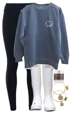 """""""im so mad read d"""" by elizabethannee ❤ liked on Polyvore featuring NIKE, Hunter, Sara Happ, Alex and Ani, women's clothing, women, female, woman, misses and juniors"""