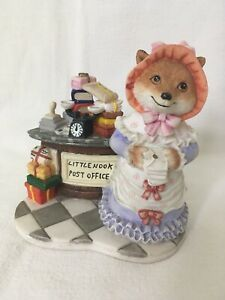 Little Nook Lady Cooper Sarah Fox At Post Office Leonardo Collectible