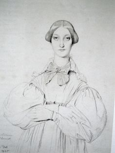 ingres portraits drawings - Google Search