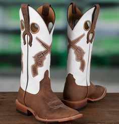 Anderson Bean Women's Pistol Cowgirl #Wedding Boots (We promise - we have pictures of #brides wearing these on our Facebook page!!)