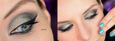 Sailor Neptun inspired makeup by http://www.thebeautyofoz.com/2016/04/schminkaktion-sailor-neptune-inspired.html