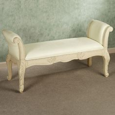 Florio Bench shabby chic or victorian
