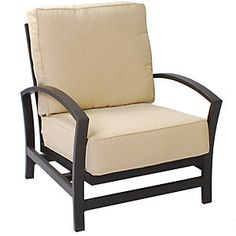 meadowcraft maddux spring lounge chair