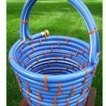 Woven Baskets From Old Hoses   Apartment Therapy