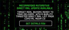 Upgrade Available Automotive Digital Marketing Creative Graphic Design iDriveMedia.com CoastalMediaCo.com Coastal Media Co Staffed Events Direct Mail