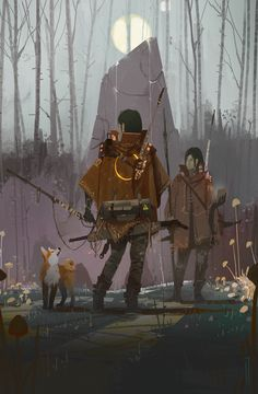 The amazing digital art of Ismail Inceoglu Fantasy Character Design, Character Design Inspiration, Character Art, Cyberpunk Aesthetic, Arte Cyberpunk, Epic Art, Amazing Art, Environment Concept Art, Fantasy Artwork