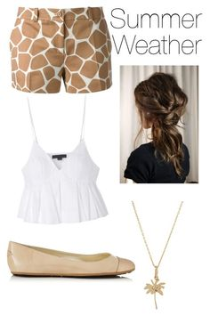 """Summer Weather"" by its-massieee ❤ liked on Polyvore featuring Michael Kors, Alexander Wang, Bianca Pratt and Jimmy Choo"