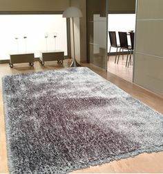 Shop for Soft as Silk Shaggy Rug Brimming with a Neutral Shade of Gray Grey rugs for sale - x Get free delivery On EVERYTHING* Overstock - Your Online Home Decor Store! Get in rewards with Club O! Grey Shag Rug, Grey Rugs, Beige Area Rugs, Blue Rugs, 4x6 Rugs, Green Carpet, Bedroom Carpet, Wall Carpet, Shag Carpet