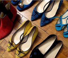 Kate Spade Fall 2012. May I have a pair of each???