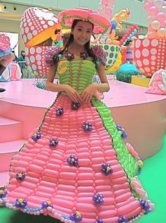 #balloon dress #balloon fashion #balloon headbands #balloon bracelets #balloon necklaces #balloon hats #balloon rings #balloon purse