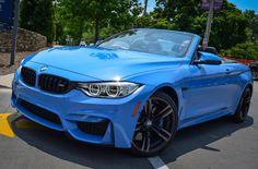 Yas Marina Blue BMW M4 Convertible