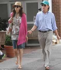 Paul McCartney's wife Nancy Shevell makes even the most casual look sexy   Mail Online