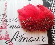 Maxine- Beautiful Vintage Inspired Fascinator by My Vintage Modern Heart on Etsy.