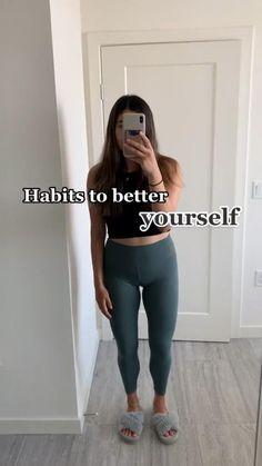 Self Development, Personal Development, Get My Life Together, Teen Life Hacks, Healthy Lifestyle Motivation, Self Care Activities, Girl Tips, Self Motivation, Good Habits