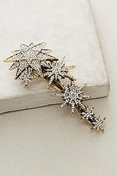 Anthropologie String Of Stars Barrette