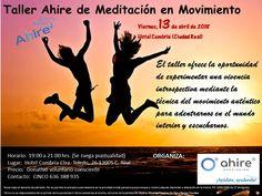 Desde Asociación Ahire, te informamos que el Viernes, 13 de abril de 19.00 a 21.00, tienes una oportunidad espectacular de asistir al taller Ahire de Mediación en Movimiento. Zentra-T
