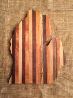 Michigan Live Edge Handmade Cutting Board by BoardsbytheBay